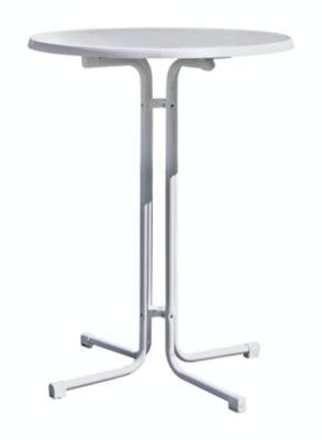Stehtisch - Gestell aus Stahl, Sevelitplatte - weiß, ab 10 Stk