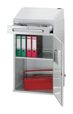 RAU Industrie-Stehpult - mit 1 Schublade über dem Schrank