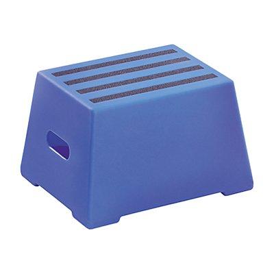Kunststoff-Tritt mit rutschfesten Stufen - abwaschbar, geprüft nach EN 14183:2003E