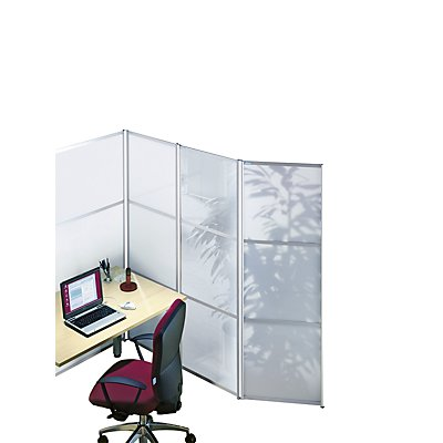 OFFICE AKKTIV Design-Paravent - HxB 1.800 x 1.000 mm