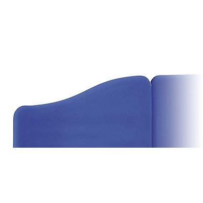 abstracta Trennwandelement in Wellenform - für Gesamthöhe von 1.460 bis 1.600 mm
