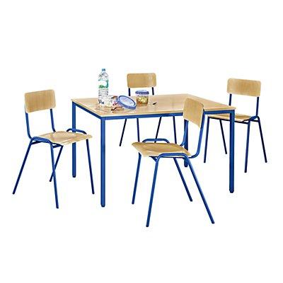Mehrzweck-Sitzgruppe - 1 Tisch, 4 Stühle