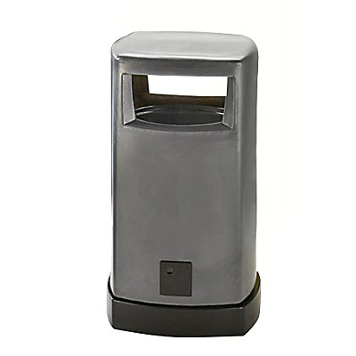 Denios Abfallsammler für außen - aus Kunststoff Inhalt 80 Liter