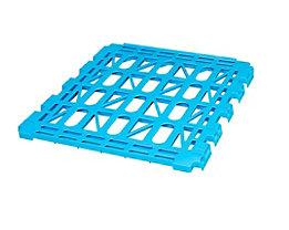 E.S.B. Zwischenboden für Rollbehälter, 2-seitig, lichtblau, Breite 710 mm