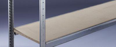 Weitspannregal, mit Spanplatte, Höhe 2500 mm - Spannweite 2500 mm