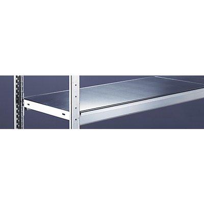 Schulte Weitspannregal, mit Stahlboden, Höhe 2500 mm - Spannweite 1500 mm