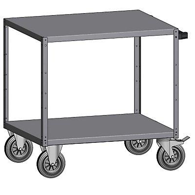 Montagehilfswagen - mit 2 Etagen