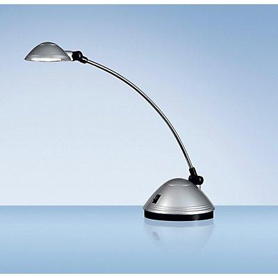 LED-Tischleuchte SATURN, Höhe 470 mm, silber