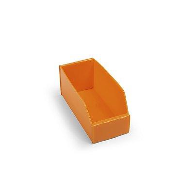 kbins Kunststoff-Regalkasten, faltbar - LxBxH 225 x 100 x 100 mm