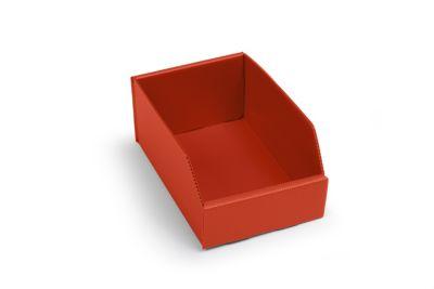 Kunststoff-Regalkasten, faltbar - LxBxH 225 x 150 x 100 mm