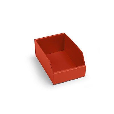 kbins Kunststoff-Regalkasten, faltbar - LxBxH 225 x 150 x 100 mm