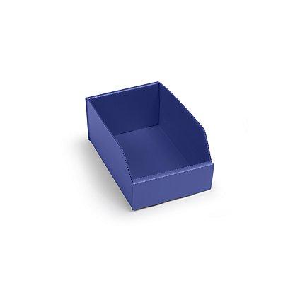 Bac de stockage pliant en plastique - L x l x h 225x150x100 mm