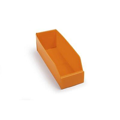 Kunststoff-Regalkasten, faltbar - LxBxH 300 x 100 x 100 mm