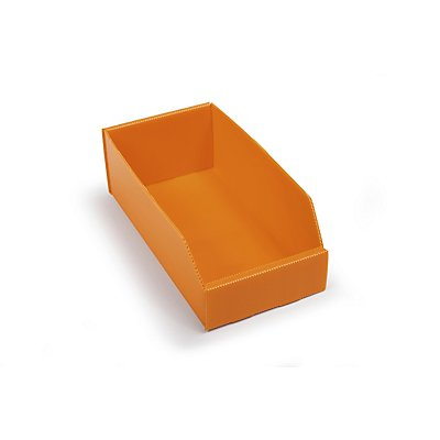 Bac de stockage pliant en plastique - L x l x h 300x150x100 mm