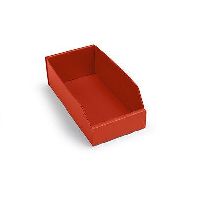 kbins Kunststoff-Regalkasten, faltbar - LxBxH 300 x 150 x 100 mm