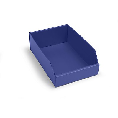 kbins Kunststoff-Regalkasten, faltbar - LxBxH 300 x 200 x 100 mm