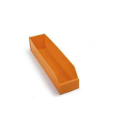kbins Kunststoff-Regalkasten, faltbar - LxBxH 450 x 100 x 100 mm