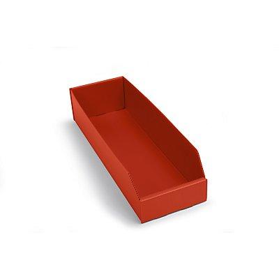 kbins Kunststoff-Regalkasten, faltbar - LxBxH 450 x 150 x 100 mm