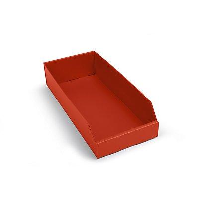 kbins Kunststoff-Regalkasten, faltbar - LxBxH 450 x 200 x 100 mm