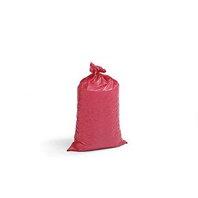 Kunststoffsäcke - Inhalt 70 l, BxH 575 x 1000 mm, VE 250 Stk