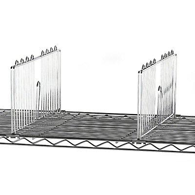 Fachteiler für Chromtischwagen, Höhe 215 mm - VE 2 Stück