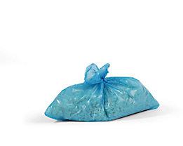 Sacs-poubelle - lot de 250, bleu - 800 x 600 mm