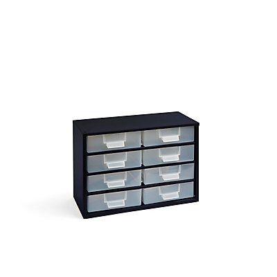 Schubladenmagazin - HxB 261 x 366 mm, 8 Schubladen