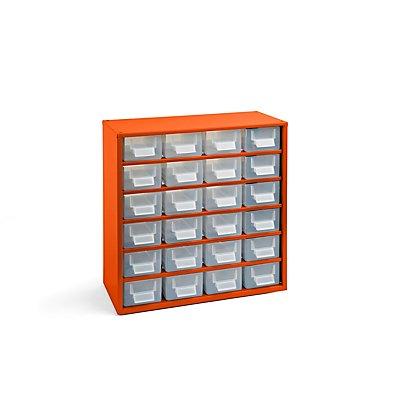 Schubladenmagazin - HxB 387 x 366 mm, 24 Schubladen