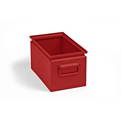 Stapelkasten aus Stahlblech - Inhalt ca. 14 l