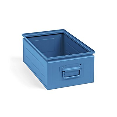 Stapelkasten aus Stahlblech - Inhalt ca. 30 l