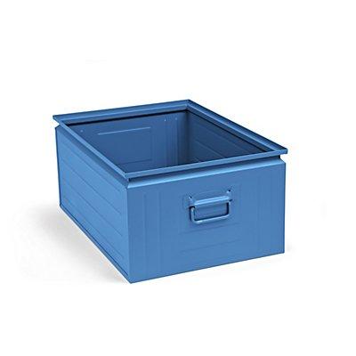 Stapelkasten aus Stahlblech - Inhalt ca. 80 l