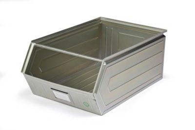 Sichtlagerkasten aus Stahlblech - Inhalt 74 Liter