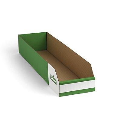 kbins Karton-Regalkasten, faltbar - VE 150 Stk