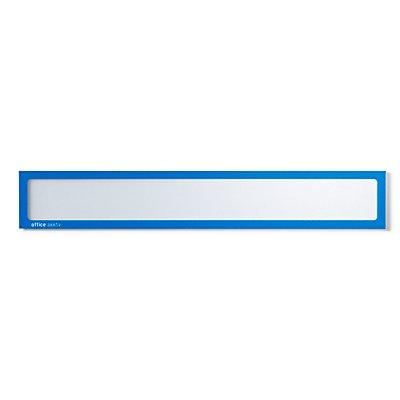 office akktiv Magnetische Infotasche - für Überschriften, DIN A3 quer / DIN A2 hoch, 435 x 60 mm
