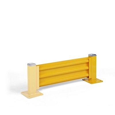 Rammschutzwand, Höhe 480 mm - 1 Wandelement, Länge 1067 mm