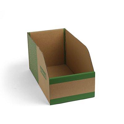 kbins Karton-Regalkasten, faltbar - VE 75 Stk