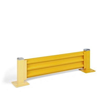 Rammschutzwand, Höhe 480 mm - 1 Wandelement, Länge 1372 mm