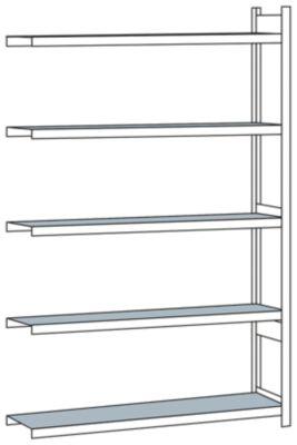 Weitspannregal, mit Stahlboden, Höhe 3000 mm - Spannweite 2000 mm