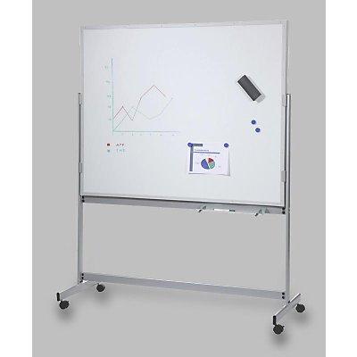 Eichner Planungstafel, mobil - BxT 1550 x 1945 mm, hellgrau