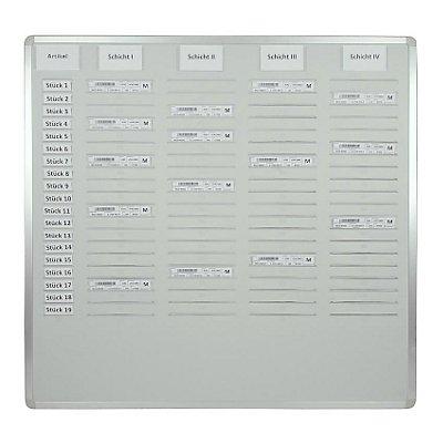 Eichner Orga-Easy-Plantafel - Höhe 900 mm, für DIN A5 vertikal, zweireihig