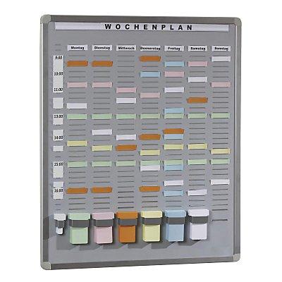 Eichner T-Card Systemtafel - Hartschaum-Trägerplatte, grau