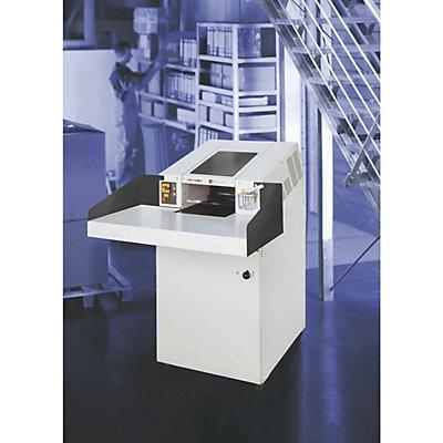 HSM Förderband-Aktenvernichter, POWERLINE FA 400.2 - Auffangvolumen 460 l, Streifenschnitt