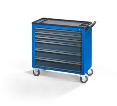 QUIPO Werkstattwagen JUMBO - mit 6 durchgehenden Schubladen
