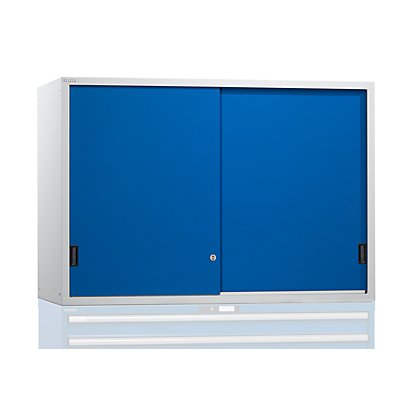 Aufsatzschrank mit Schiebetüren - Türen aus Vollblech