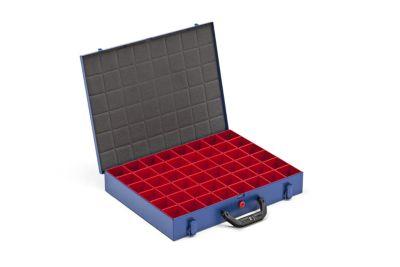 Kleinteilekoffer mit Einsatzkästen - BxT 440 x 370 mm
