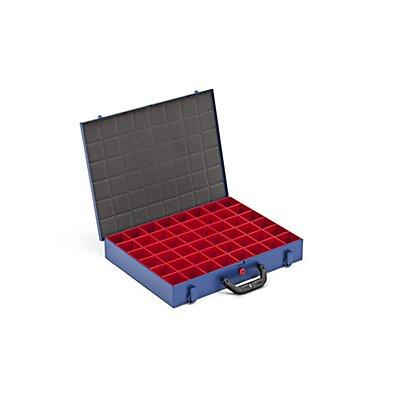 allit Kleinteilekoffer mit Einsatzkästen - BxT 440 x 370 mm