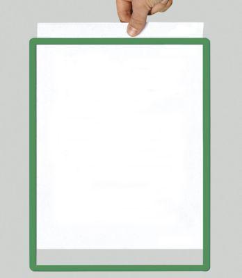 Rahmen mit Klarsichtfolie - Papierformat A2, VE 10 Stk, grün