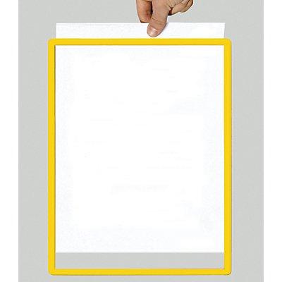 Rahmen mit Klarsichtfolie - Papierformat A2, VE 10 Stk