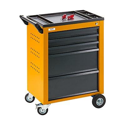 QUIPO Werkzeugwagen - 5 Schubladen mit Einzelarretierung