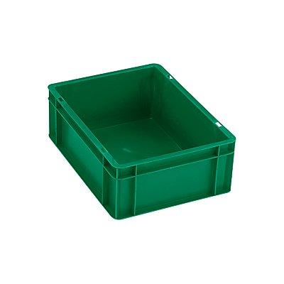 Euro-Format-Stapelbehälter, Wände und Boden geschlossen - LxBxH 600 x 400 x 75 mm